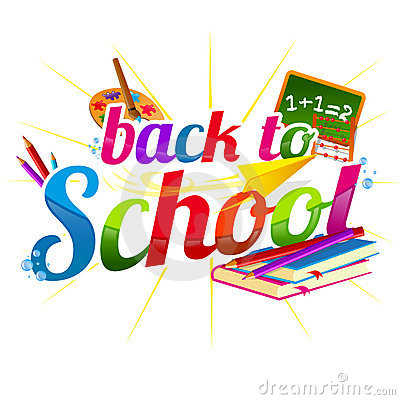 Fall Back To School Clipart.