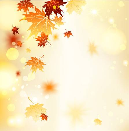 139,507 Autumn Leaves Background Stock Vector Illustration And.