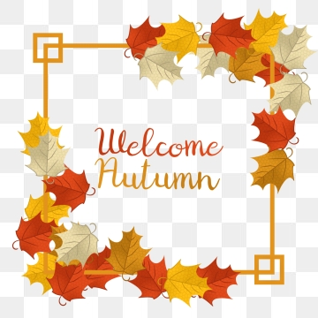 Autumn Background PNG Images.