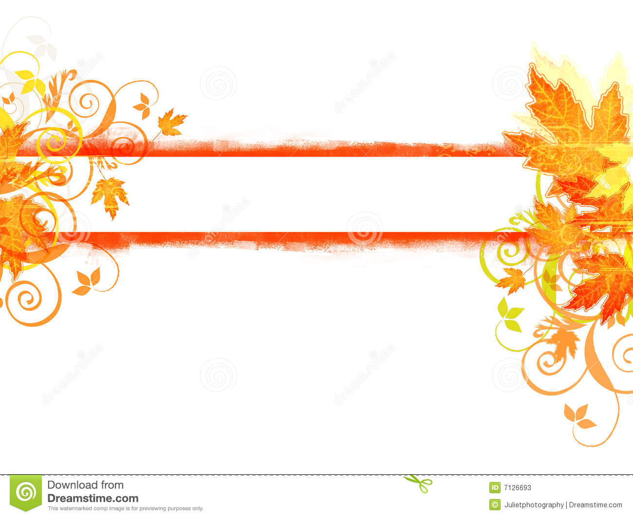 Fall banner clipart 2 » Clipart Station.