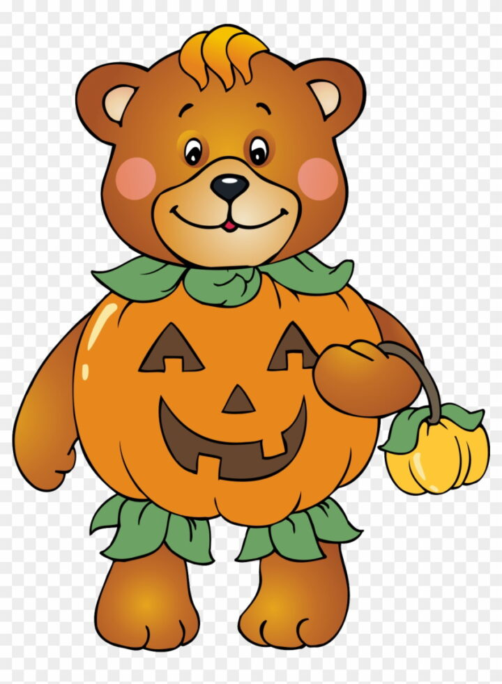 Halloween Bear Clipart Fall Bear Clip Art Image Provided.
