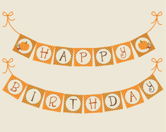 Fall birthday clipart 6 » Clipart Station.