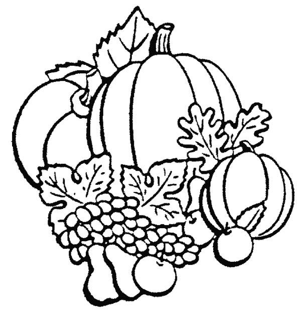 Fall Clipart Black And White.