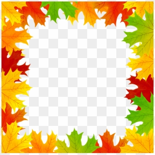 Fall Leaves Border PNG Images, Free Transparent Image Download.