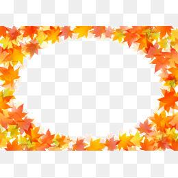 Autumn Leaves Border #55098.