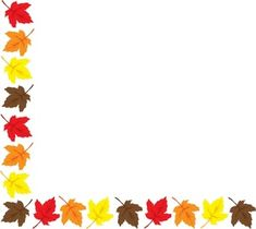 Fall borders clipart free 5 » Clipart Station.