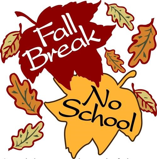 Spring Mill Elementary School » Fall Break.