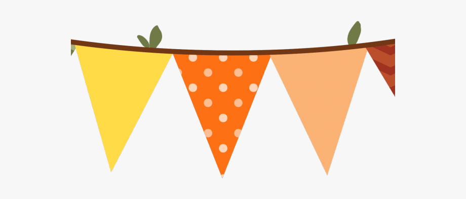 Fall Clipart Bunting.