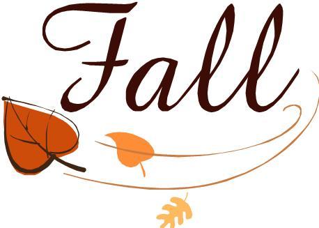 Fall Holiday Celebration Clipart.