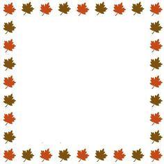 October Clipart Banner.