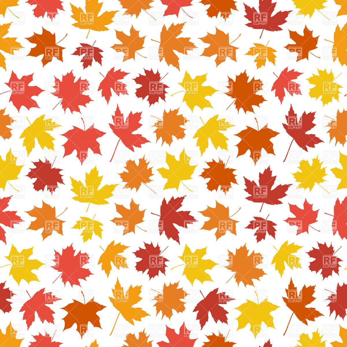 Fall Clipart Background.