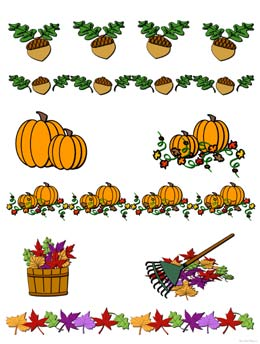 Fall Clipart Printable Free.