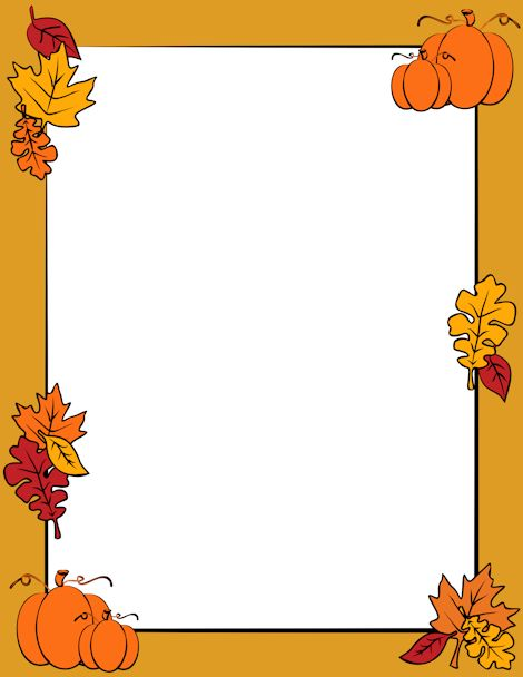 Fall Border Clip Art & Fall Border Clip Art Clip Art Images.