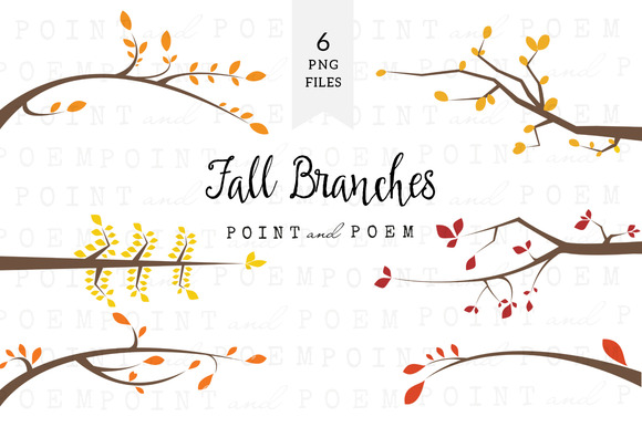 Fall Silhouette Clip Art (10+).