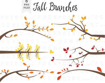 Branches Clipart, Spring Branches Clip Art, Tree Branches.