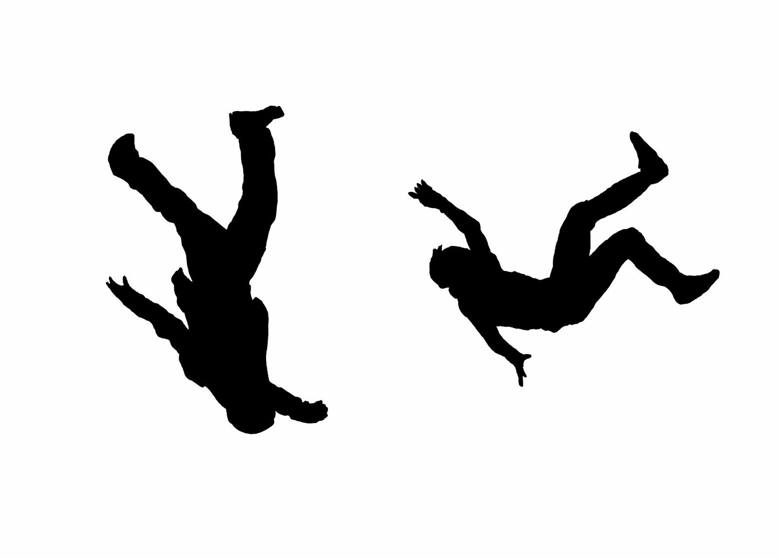 Falling Person.