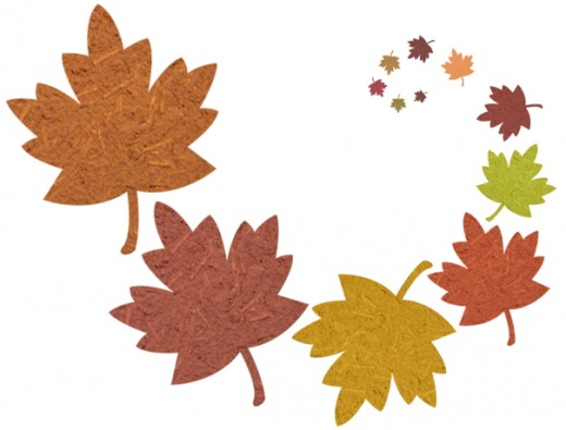 Fall colors clipart.