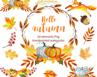 Fall foliage wreath.