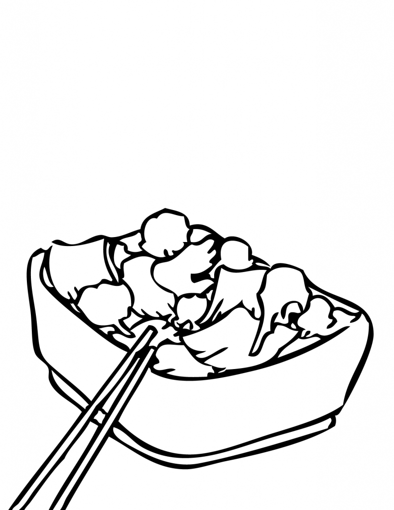 Squash Coloring Page to Encourage to color an images.
