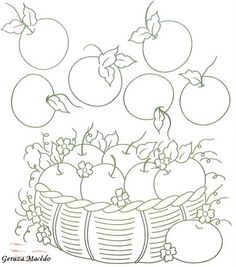 coloring picture of squash.