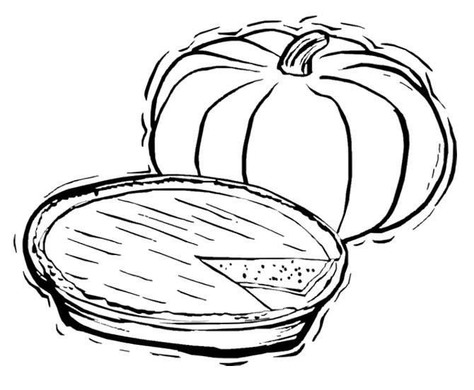 fall color sheets food clipart