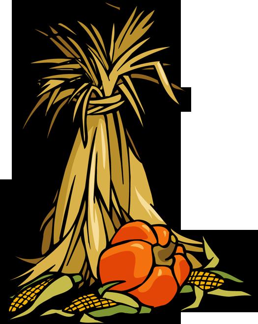 Colorful Clip Art for The Autumn Season.