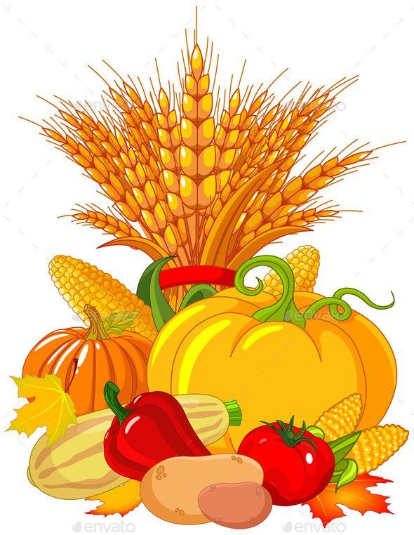 Thanksgiving Harvest Design.