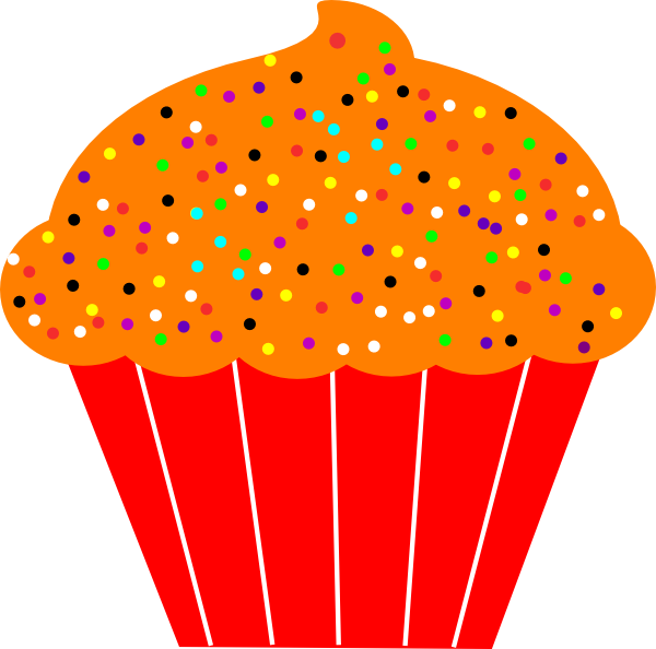 Fall Cupcakes Clipart.