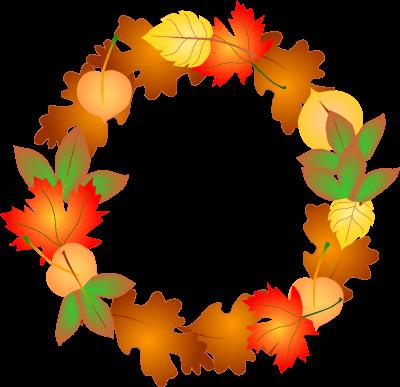 Fall Decorations Cliparts.