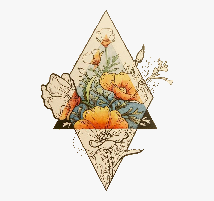 Transparent Fall Flower Clipart.