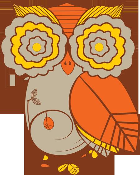 Fall festival owl clipart.