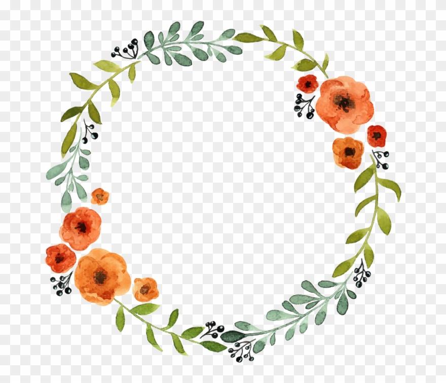 Floral Wreath Personalised Name.
