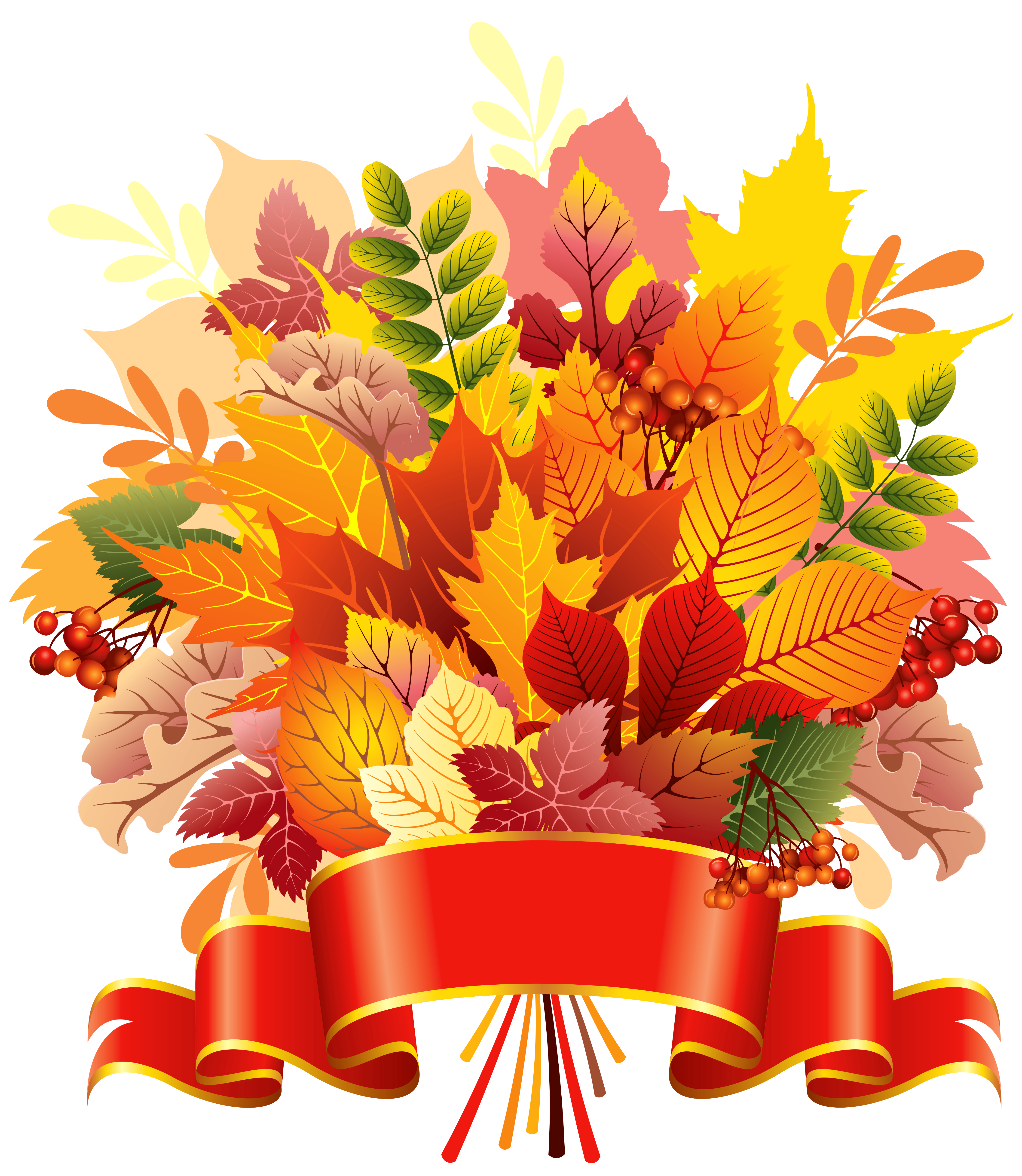 fall flower bouquet clipart - Clipground