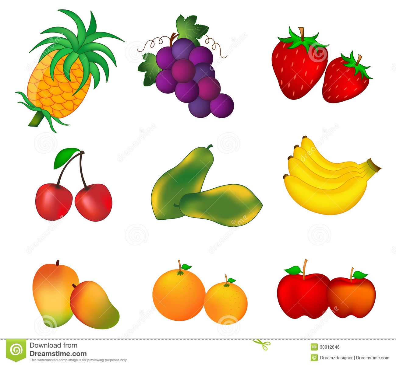 Free clipart images fruit.