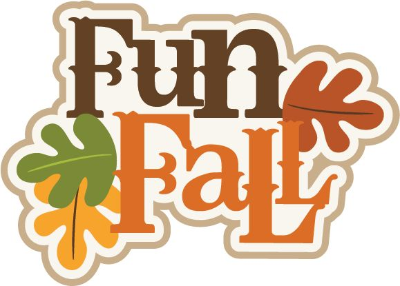 Fall Funny Clipart.