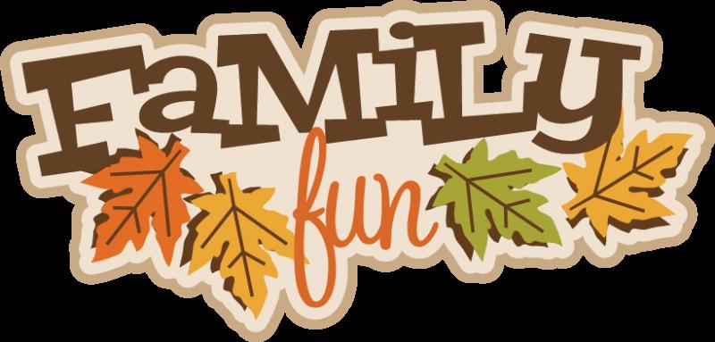Fall Family Clipart.