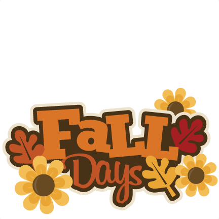 Fall Fun Clip Art.