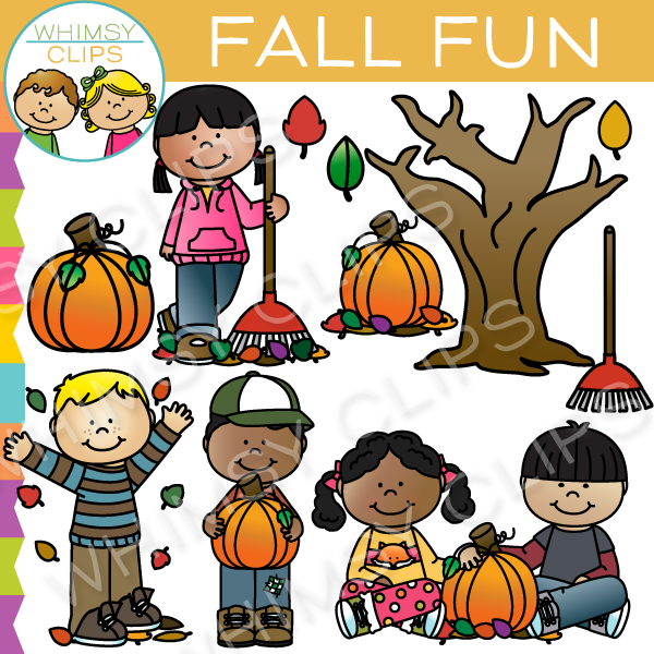 Fall Fun Clipart.