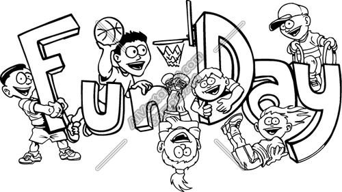 Fun Day Clipart Png.