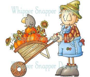 scarecrow gardening.
