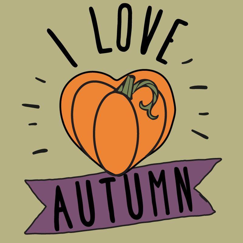 I love autumn clipart, fall clipart, pumpkin clipart.