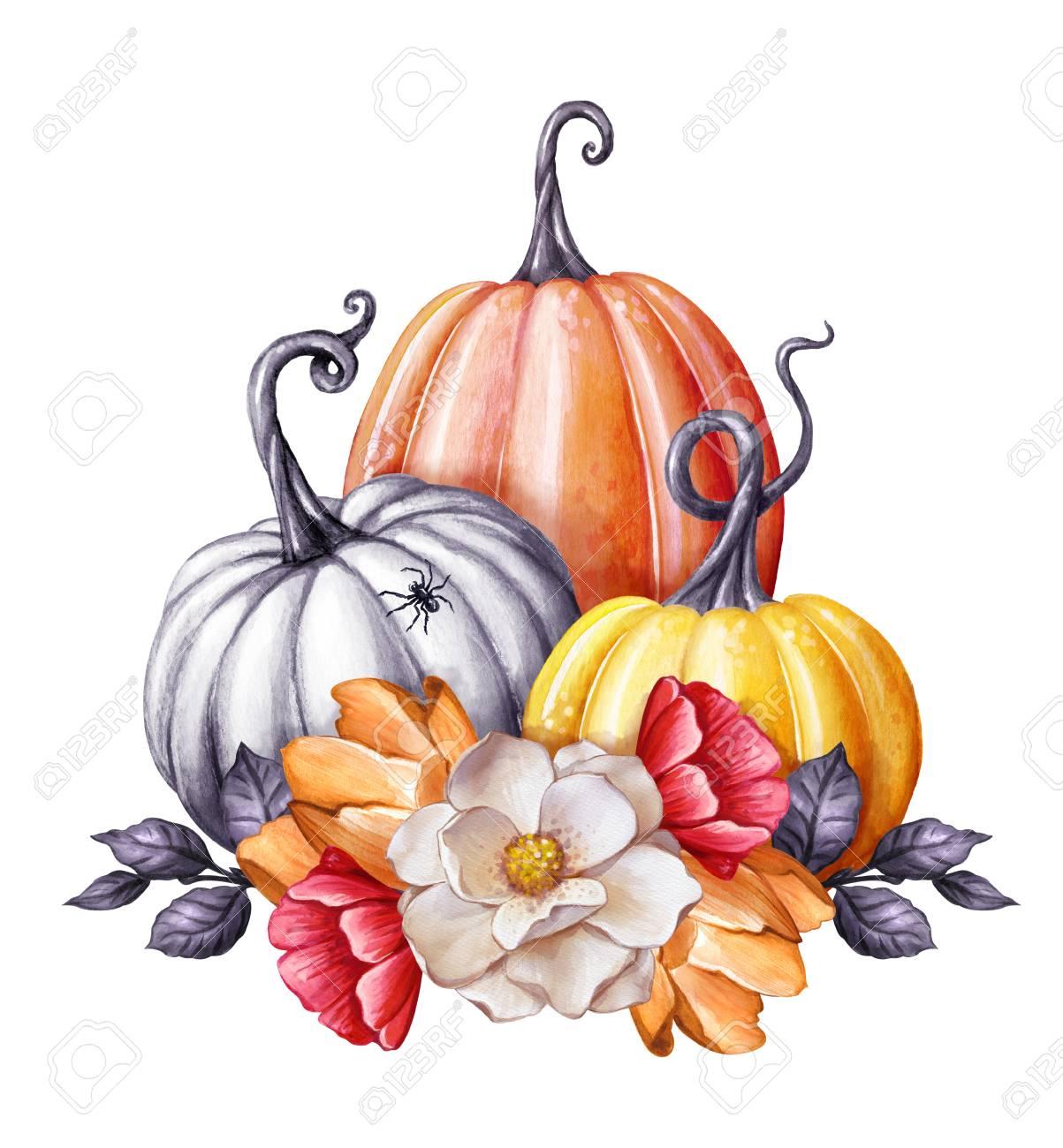 Fall Gourd Clipart.