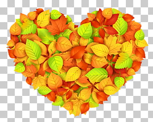 Fall Heart Cliparts 18.