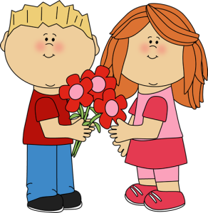 To fall in love with clipart.