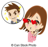 Clipart fall in love.