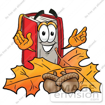 Autumn Reading Clipart.