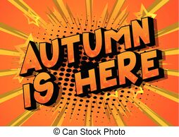 Fall is here Clipart Vector and Illustration. 69 Fall is.