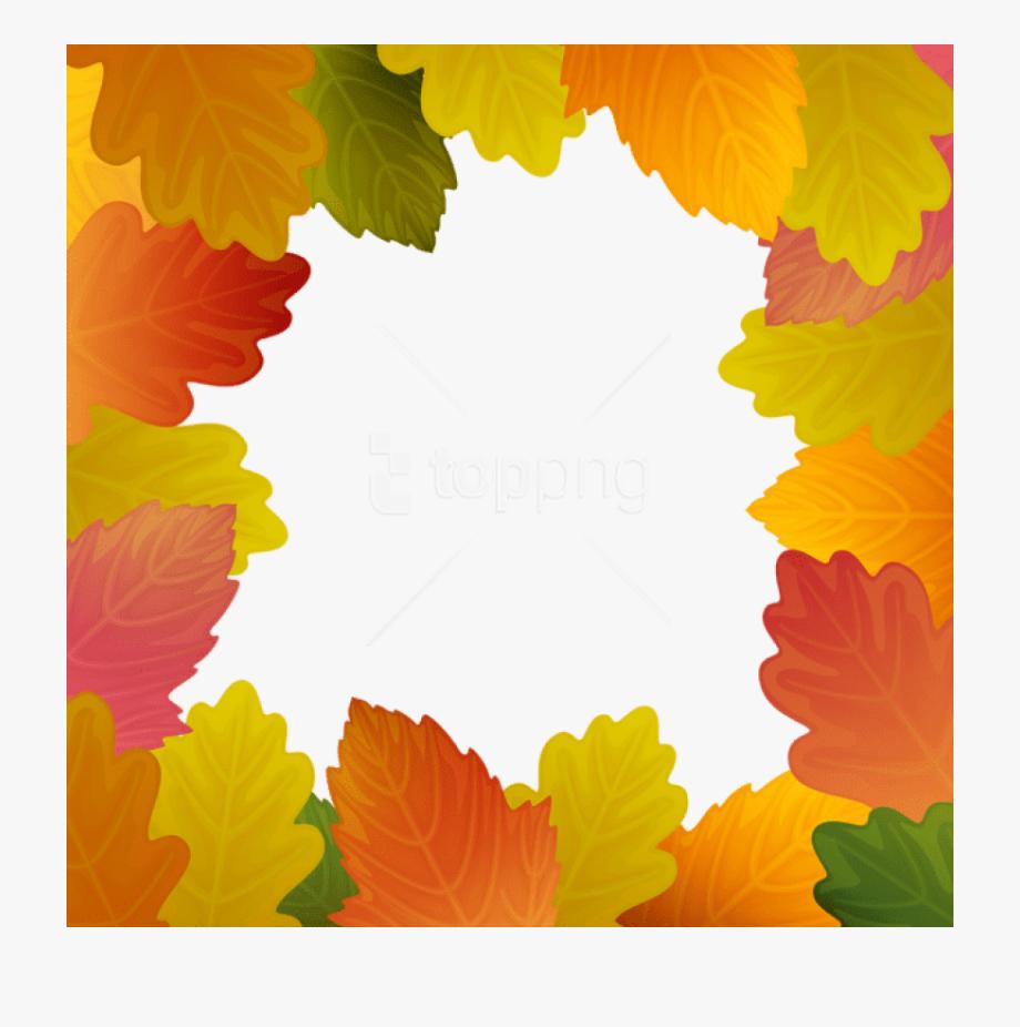 Fall Leaves Clipart Frame Jpg.