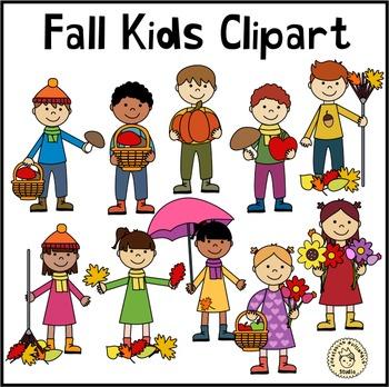 Fall Kids Clipart.