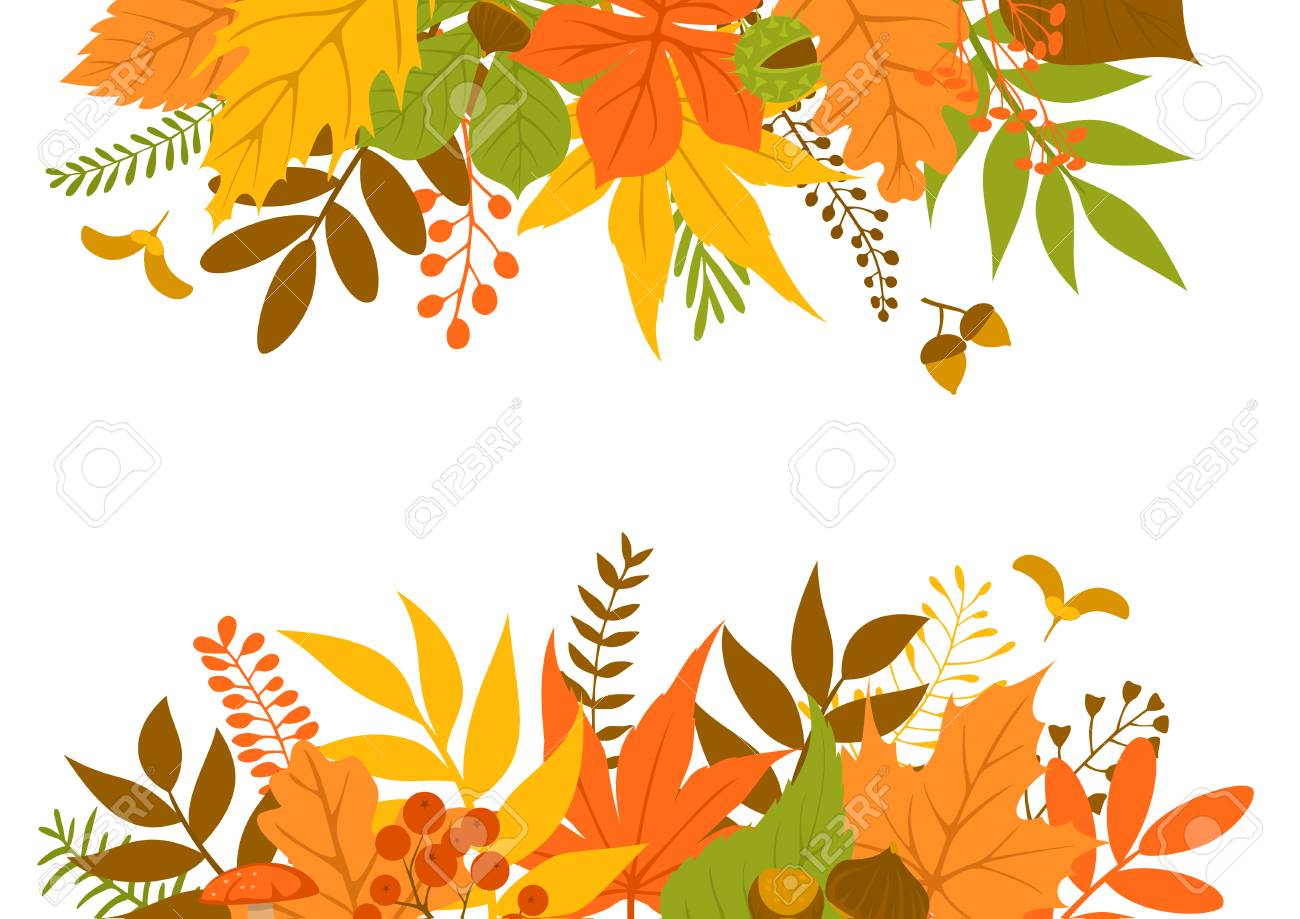 fall leaf background clipart #4